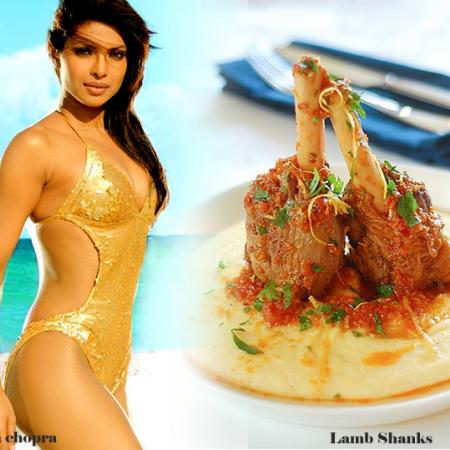 Priyanka Chopra And Lamb Shanks