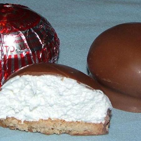 Chocolate Coated Marshmallow Treats