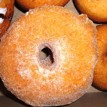Sugar-coated donut