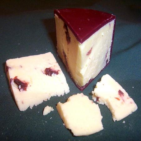 Wensleydale with Cranberries cheese