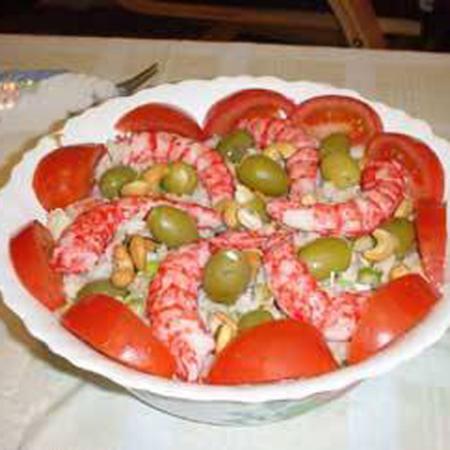 Salata od plodova mora