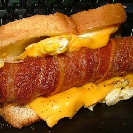 Jersey breakfast Hotdog