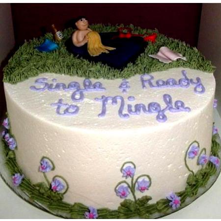Vanilla Divorce Cake