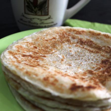 Malaysian Roti Pratas