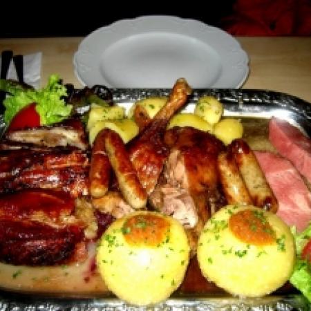 Grilled Pork Sausage