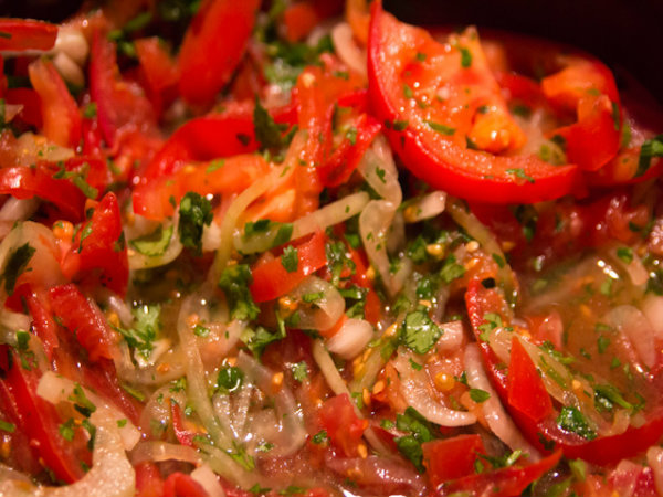 Summer Herb Tomato Salad picture