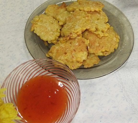 Sweet Corn Fritters picture