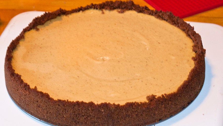 Sweet Potato Cheesecake picture