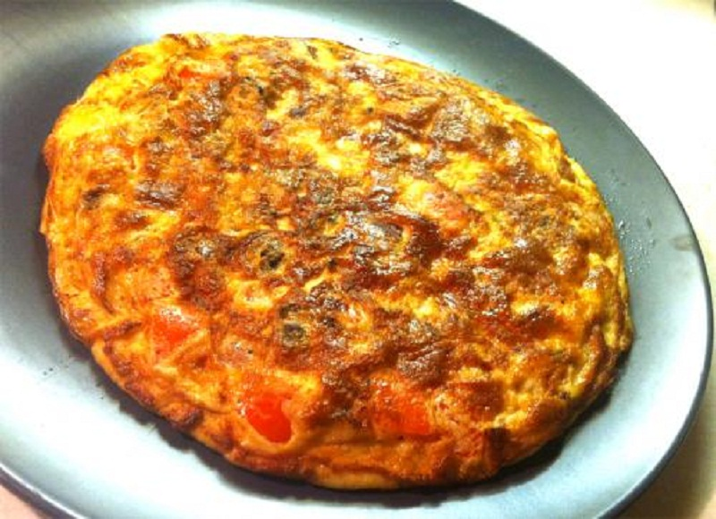 Sweet Potato  Sausage  and Feta Frittata picture
