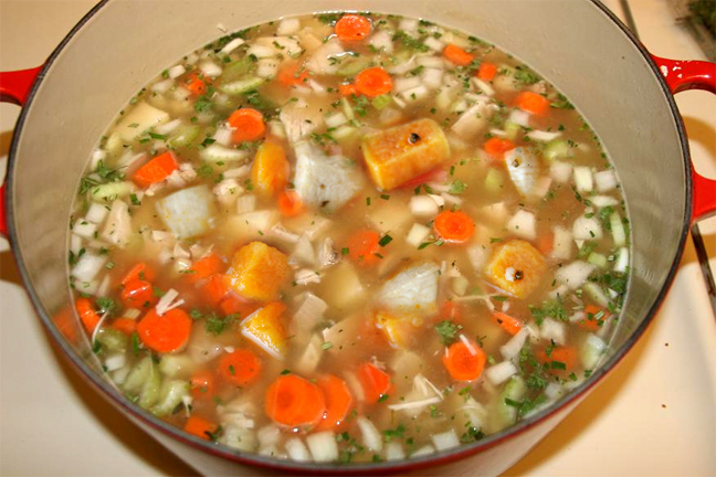 Sweet Potato Turkey Soup picture