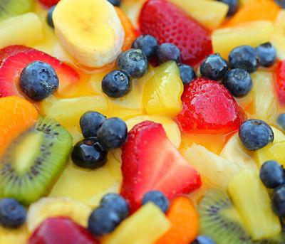 Fruit & Cheese Salad picture