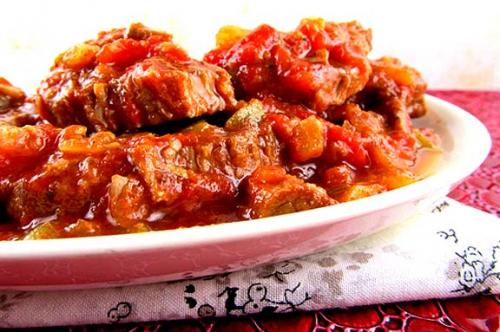 Microwave Peppered Swiss Steak picture