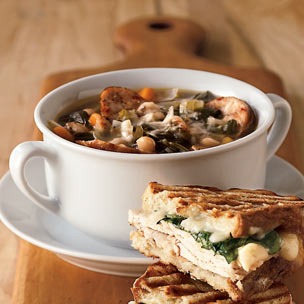 Sausage & Swiss Chard Soup picture