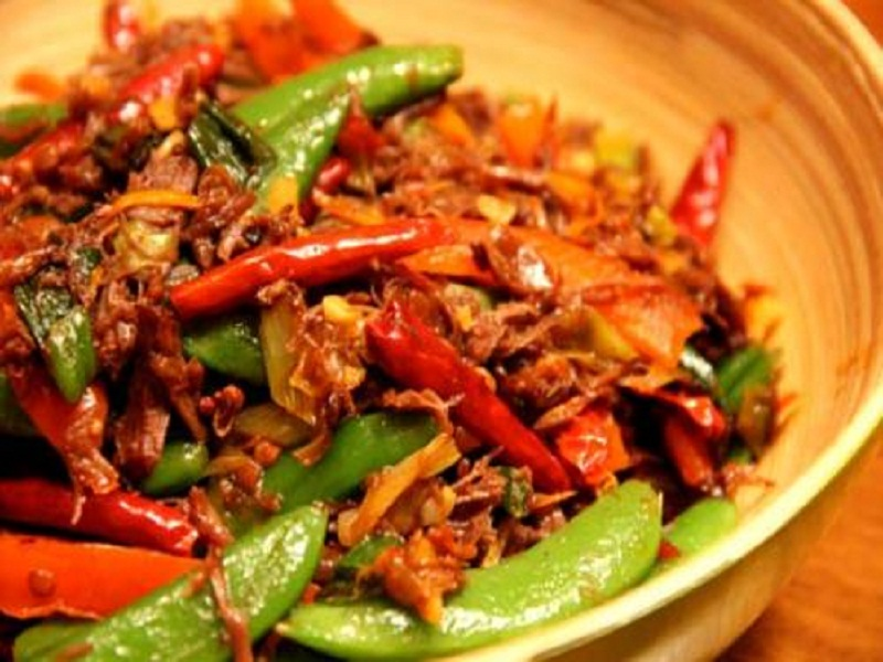 Szechuan Shredded Beef picture