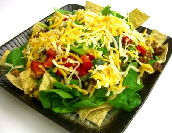 Taco Salad With Cheese & Cilantro picture