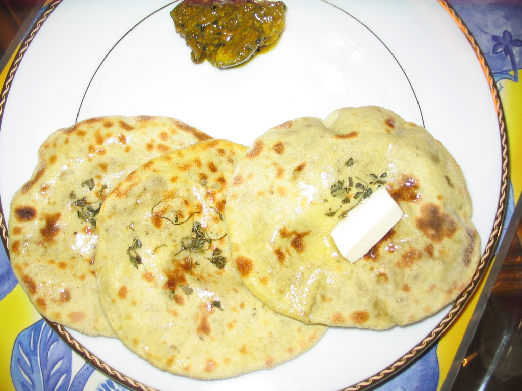 Tandoori stuffed aloo paratha by Chef Sonali picture