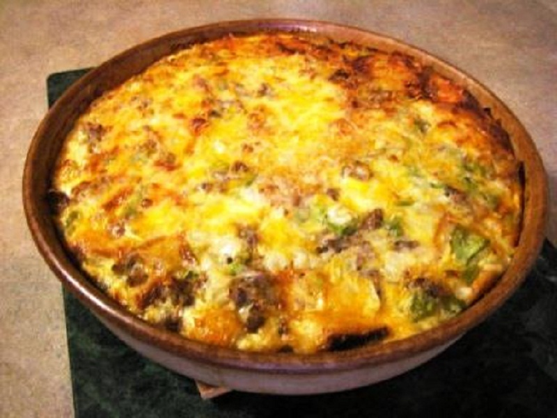 Tarkari Per Eda ( Eggs On Mixed Vegetables ) picture