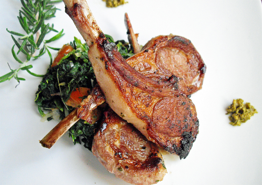 Teriyaki Lamb Chops picture