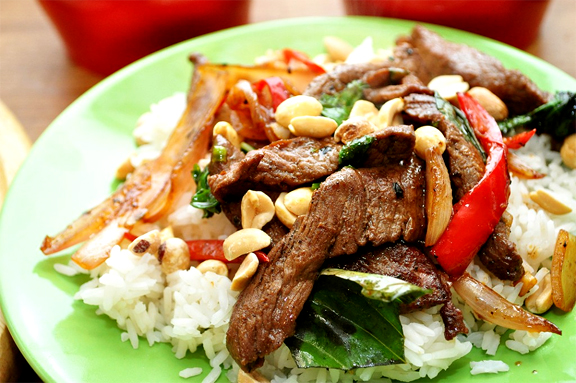 Thai Beef & Peanuts picture