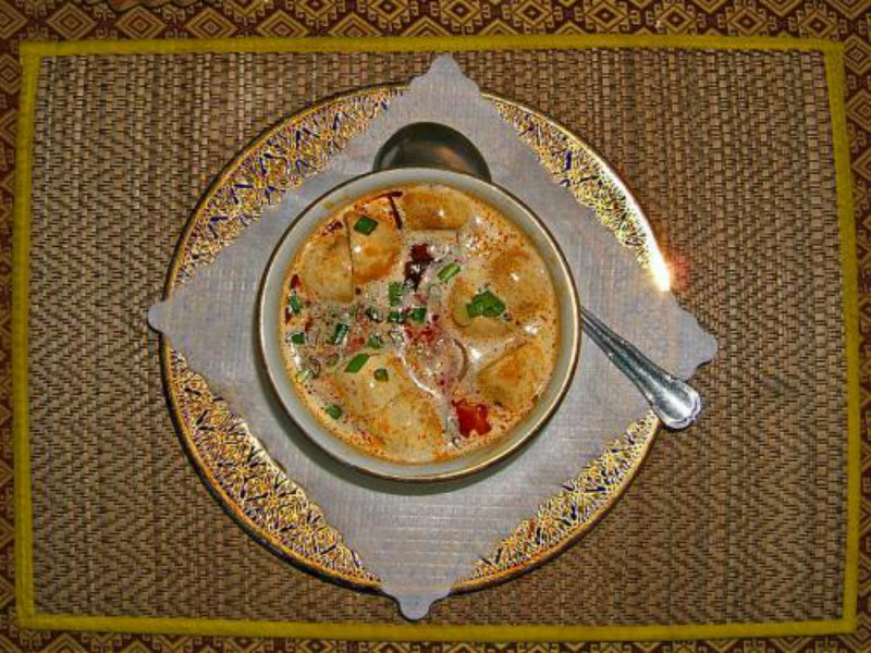 Thai Chicken and Coconut Soup picture