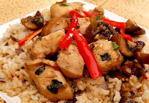 Thai Chicken With Basil picture