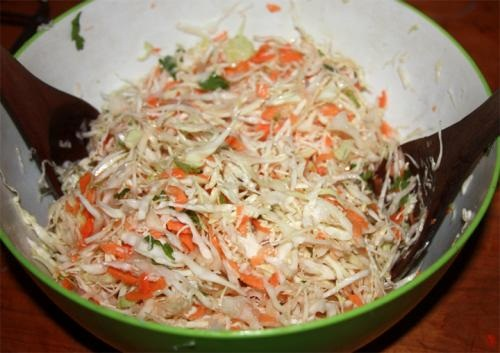Thai Style Cabbage Salad picture
