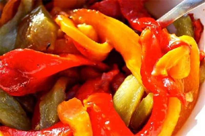 Three Coloured Peppers picture