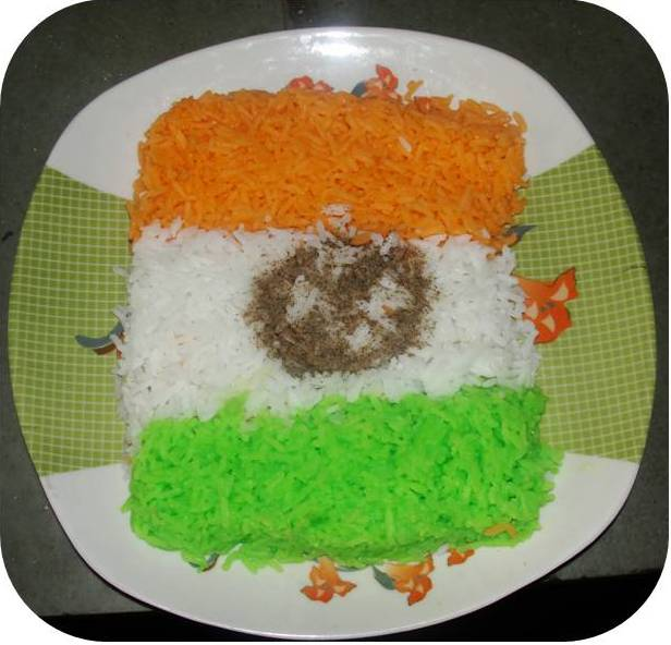 Healthy Tiranga Rice picture