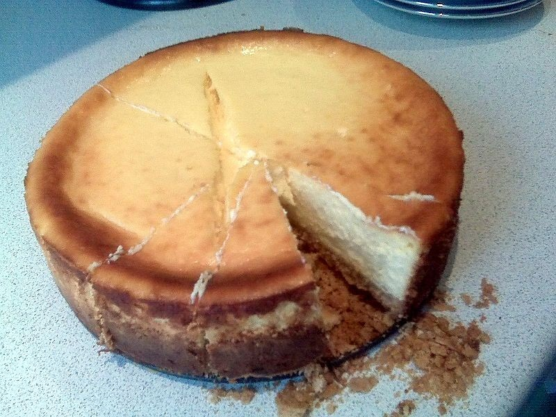Tofu Cheesecake picture