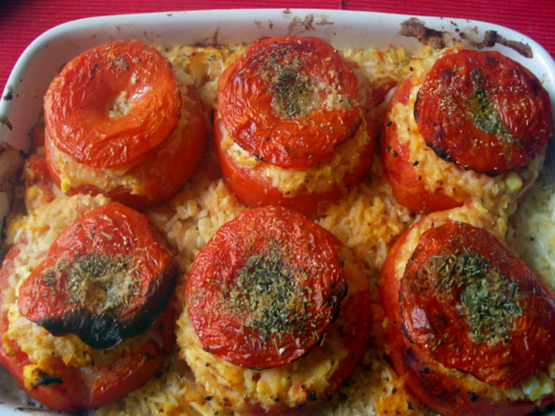 My Husband's Favorite Baked Tomatoes picture