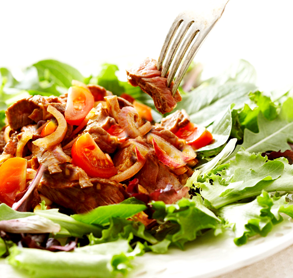 Chilled Beef and Tomato Salad picture