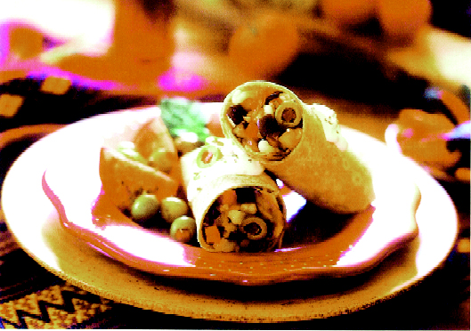 Multigrain Burritos with Mushroom & Eggplant picture