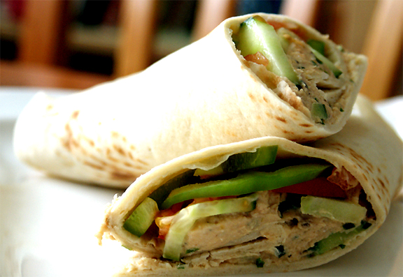 Tuna Apple Tortilla Wraps picture