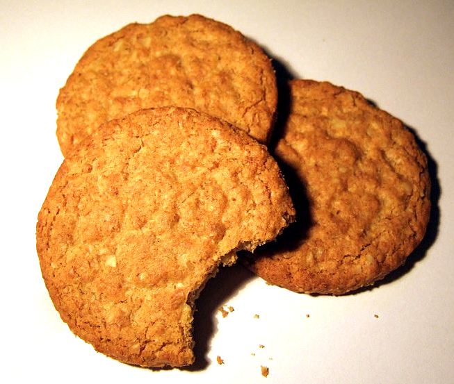 Traditional Coconut Biscuits picture