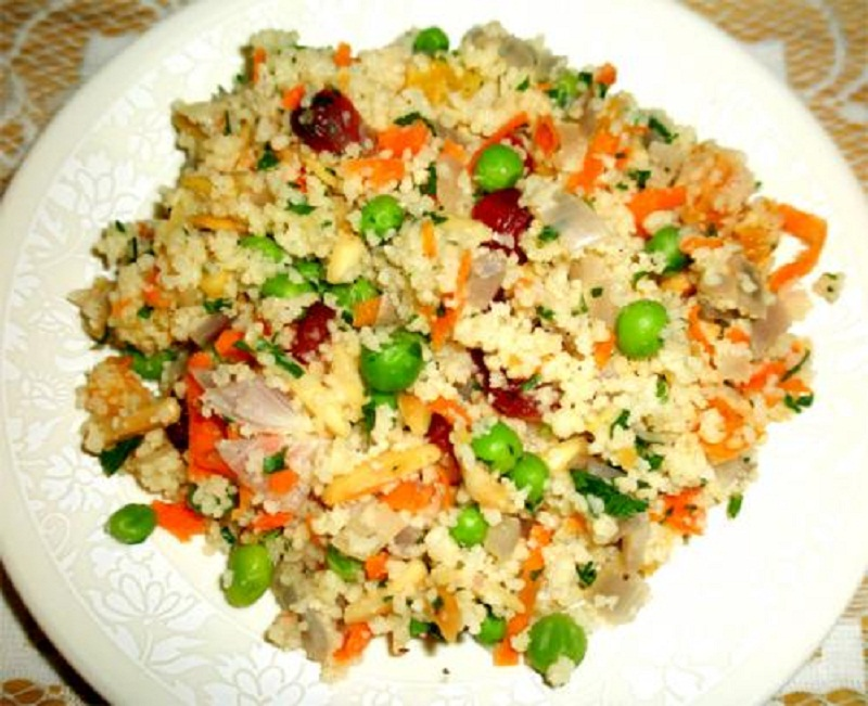 Traditional Couscous With Vegetables picture