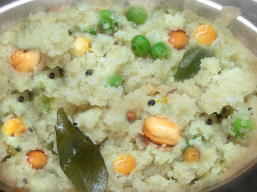 Traditional Upma picture