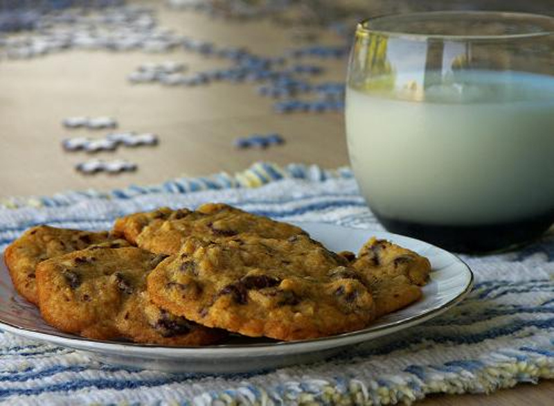 Triple Choc Chip Cookies picture