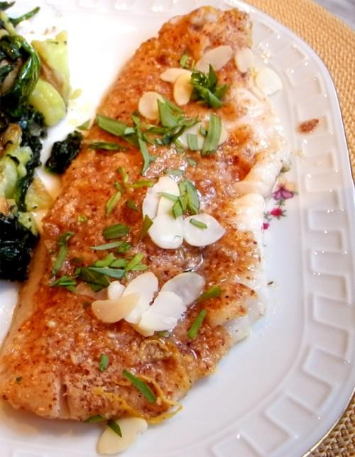 Trout With Almonds picture