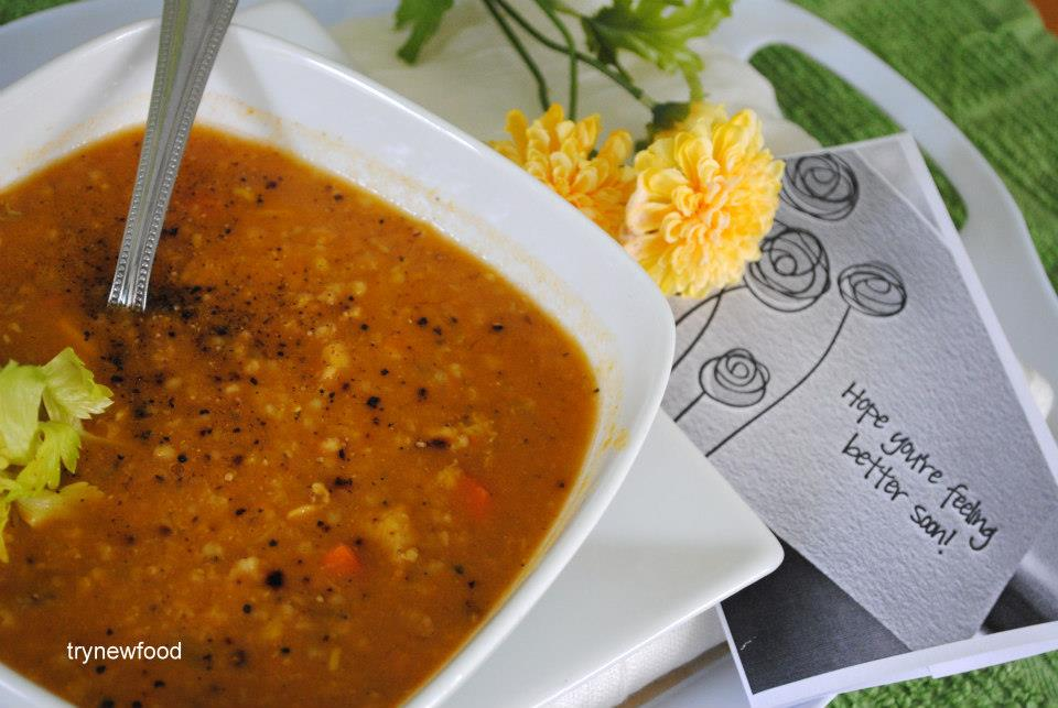 Bulgur Lentil Soup picture