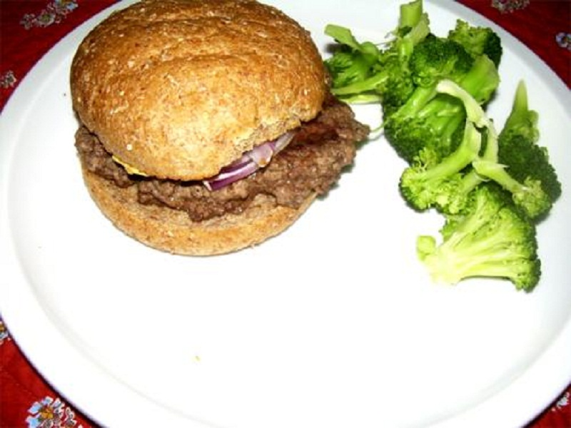 Turkey-Salsa Burgers picture
