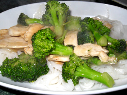 Turkey and Broccoli Stir Fry picture