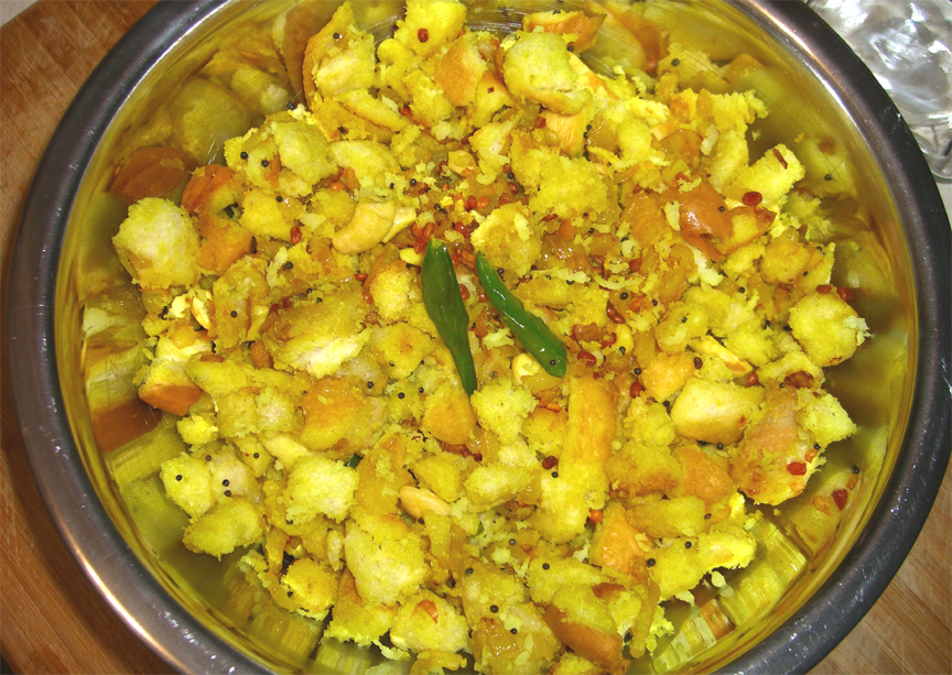 Bread Upma picture
