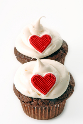 Valentine Day Cupcake picture