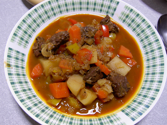 Veal Goulash picture