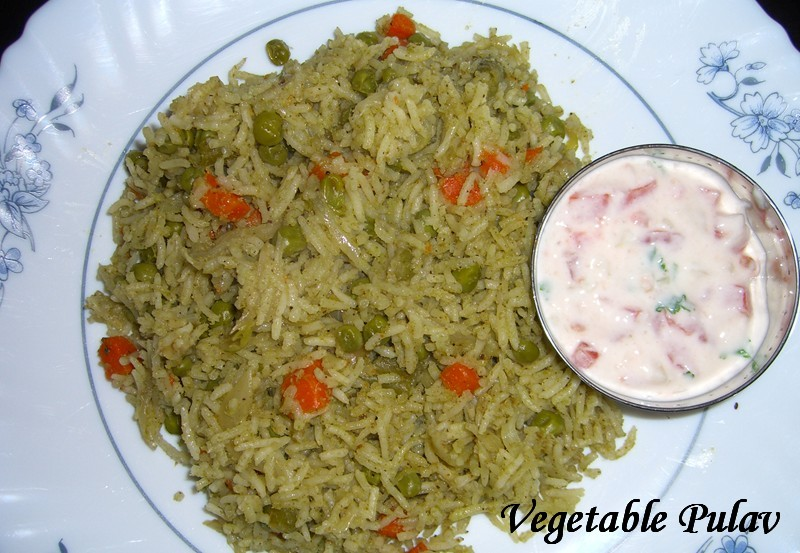 Vegetable Pulav picture