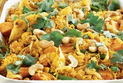 Vegetable Biryani picture