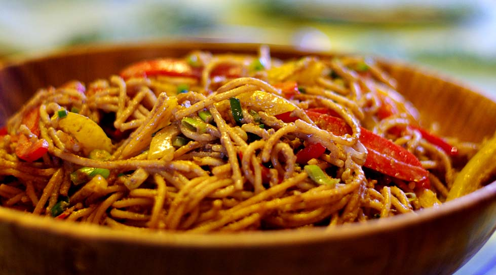 Spicy Szechuan Noodles picture
