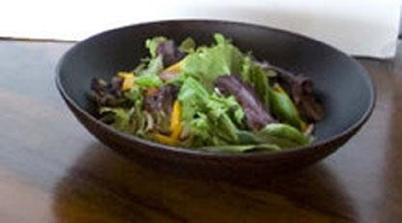 Cabbage Olive and Green Bell Pepper Salad picture