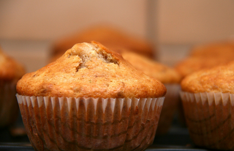 Walnut Lemon Muffins picture