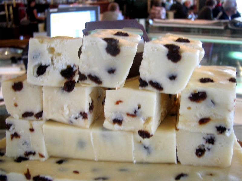 Honey Nut White Fudge picture